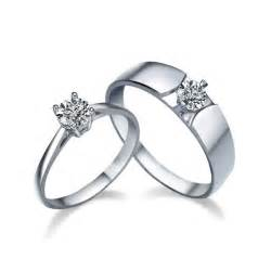 matching wedding rings his and matching cz wedding ring bands for couples jeenjewels