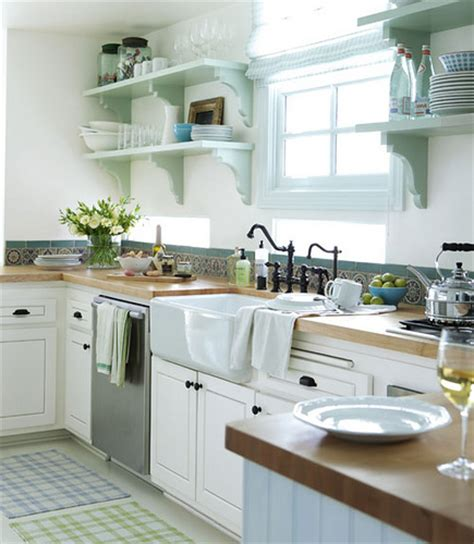 Love White Cottage Kitchens  The Inspired Room