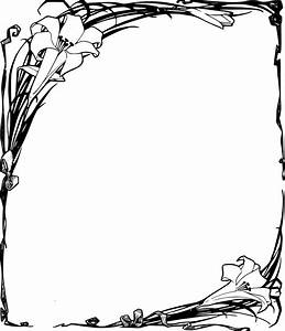 Funeral Clipart Frame Pencil And In Color Funeral