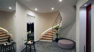 Hall Entrée Maison Moderne : attrayant decoration d une entree avec escalier dcoration maison hall dentree exemples ~ Melissatoandfro.com Idées de Décoration