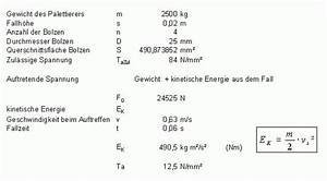 Gewicht Berechnen Kind : fallkraft berechnen wissenstransfer anlagen und maschinenbau berechnung von ~ Themetempest.com Abrechnung