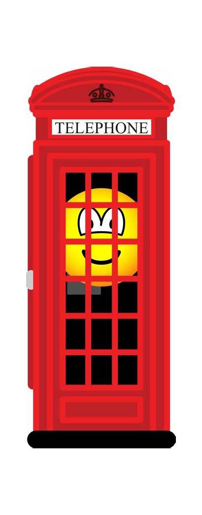 Phone Emoticons Emoticon Telefooncel Rode Emofaces Brits