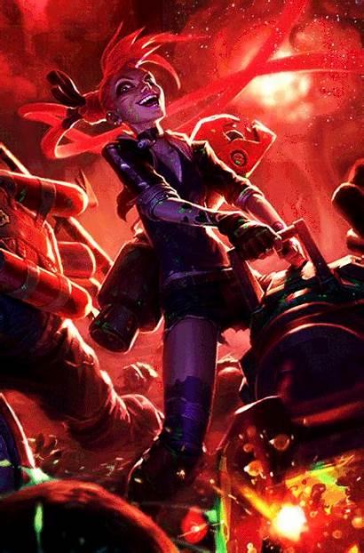 Jinx Slayer League Legends Anime Wiki Obrazy