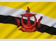 Flag of Brunei Borneo stock photo Image of emblem