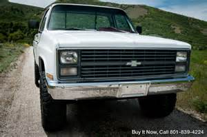 1983 Chevy Truck K10 4wd  Short Bed  Shop Truck  Frame Off