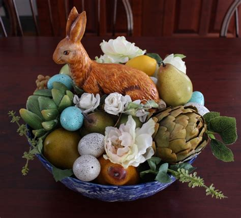 easter bunny decorating vintage american home