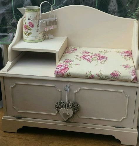 shabby chic phone table 17 best images about telephone seat ideas on pinterest shabby chic seat at and fabrics