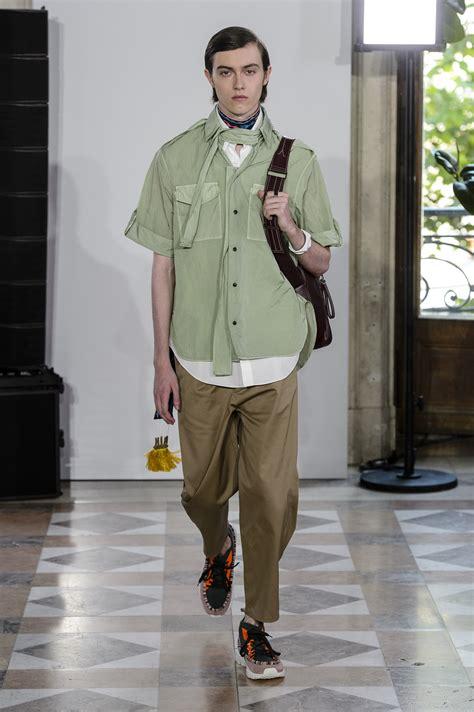 valentino spring  mens fashion show  impression