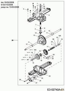 Mtd Untill 2011 Lawn Tractors Rs 180  107 13a3762g600  2006  Gearbox Spareparts