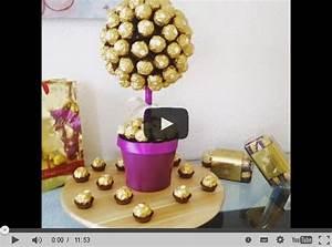 Süßigkeiten Baum Selber Machen : ferrero rocher strau selber machen ~ Orissabook.com Haus und Dekorationen