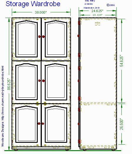 dumdun share wardrobe woodworking plans