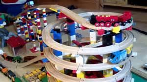 brio eisenbahn und lego toy train wooden railway system