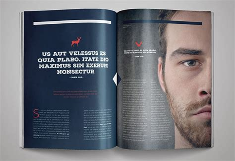 magazine design templates   freecreatives