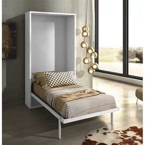 armoire lit escamotable joy ch 234 ne blanc 90x200 achat