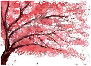 Cherry Blossom Tree Art