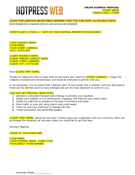 Wdsk proposal-template