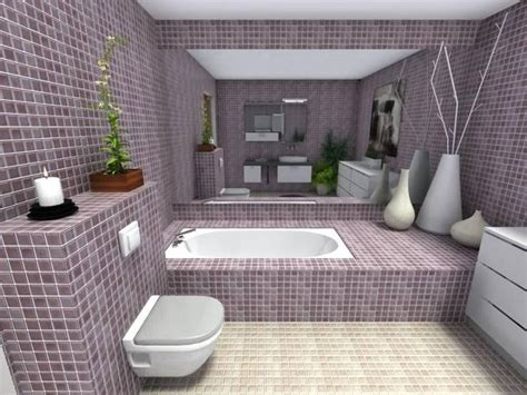 mauve master bathroom roomsketcher