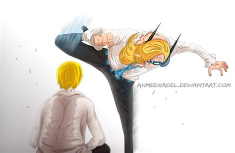 Niji And Sanji Vinsmoke-manga One Piece 839 By Ahmedxadel
