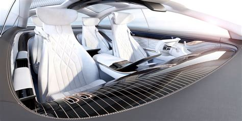 mercedes benz vision eqs concept interior design car