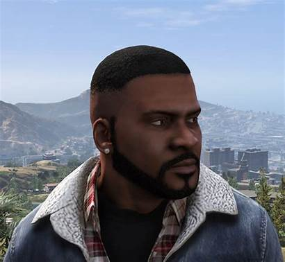 Franklin Face Gta Mods Hairstyles Texture Gta5