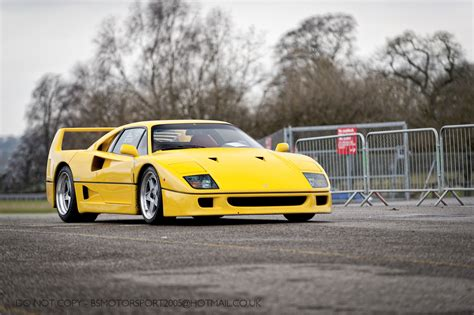 Yellow F40 by Fluidr Yellow F40 Explored By Bsmotorsport