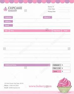 28 blank invoice templates free premium templates for Free bakery invoice template word