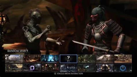 Mortal Kombat X Fight! *kraken* Reptile Vs *ronin* Kenshi