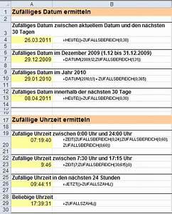 Uploadzeit Berechnen : excel inside solutions zuf llige datumswerte und uhrzeiten berechnen ~ Themetempest.com Abrechnung