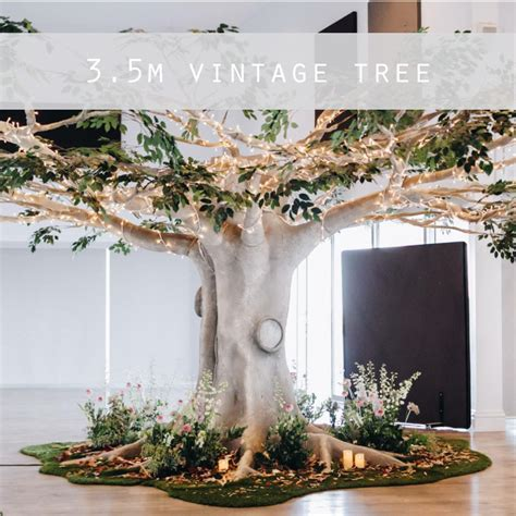autumn grove  artificial tree hire unique event