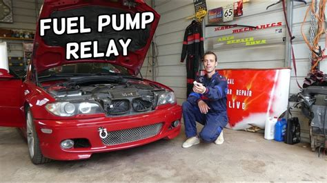 bmw  fuel pump relay location replacement bmw