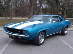 1969 Camaro LeMans Blue