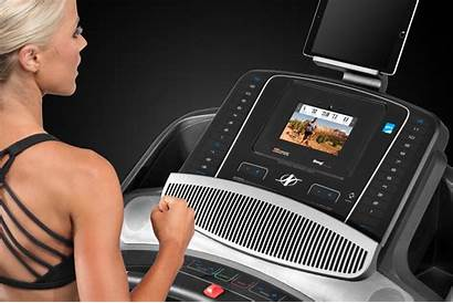 Nordictrack 1750 Commercial Treadmill Ifit Treadmills Console