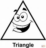 Triangle Cartoon Clip Face Coloring Triangles Shapes Geometry Pages Math Silly Para Printable Colorear Graphics Faces Clipart Cartoons Con Shape sketch template