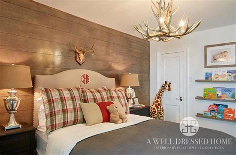 country boy bedroom ideas cabin boys bedroom with stained book ledges country Country Boy Bedroom Ideas