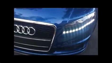 audi a4 b7 custom headlight led