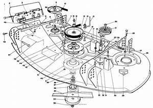 Toro Professional 30144  44 U0026quot  Side Discharge Mower  1986  Sn 600001