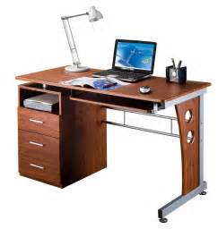 computer table with storage space efficient desk space