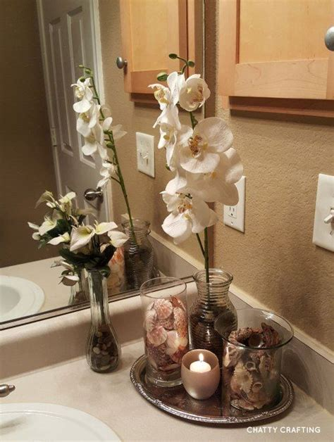 Bathroom Counter Ideas by How To Make A Spa Bathroom Display On A 15 Budget