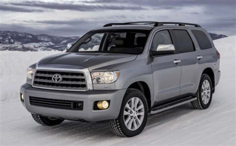 2019 Toyota Sequoia Spy Photos  Toyota Overview
