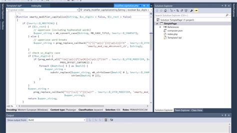 php template engine smarty php template engine in visual studio