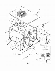 Heat Pump Diagram  U0026 Parts List For Model Cpe301ab Goodman