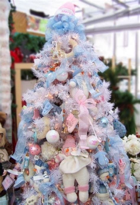 pink and blue christmas tree pictures photos and images