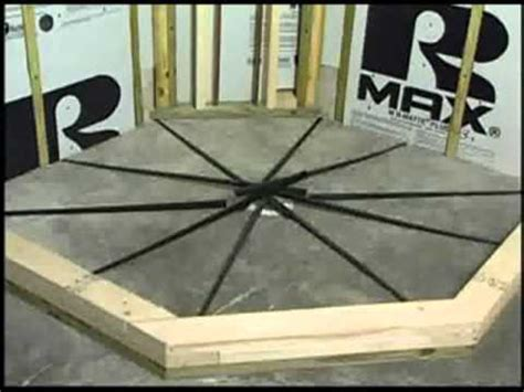 pitch shower kit pre pitch pre made shower slope system kit