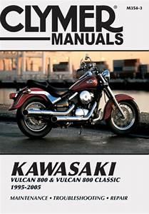 Kawasaki Vulcan 800  U0026 Vulcan 800 Classic Motorcycle  1995