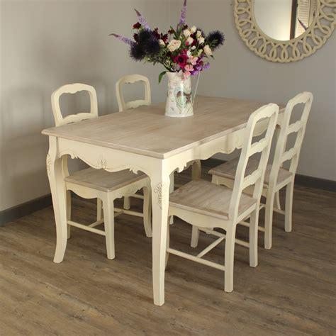 set   country cream dining chairs country ash range