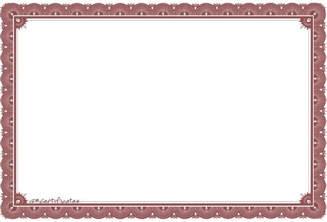 diploma border template free certificate borders to download