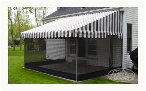 Screens For Patio Awnings By Kohler Awning