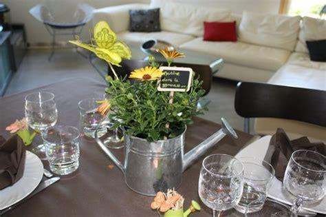 decoration table repas au jardin exemples damenagements