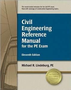 9781591261292  Civil Engineering Reference Manual For The