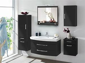 Spiegel Mit Lampe : bad spiegel mit ablage und led lampe 90 cm breit anthrazit bad spiegelschr nke ~ Eleganceandgraceweddings.com Haus und Dekorationen